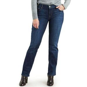 Levi's 505 Straight Blue Denim Jeans Size 26